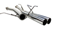 "ISR Performance Straight Dual 3"" Tip Exhaust (95-98 S14)"