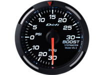 Defi White Racer Boost Pressure Gauge 52mm