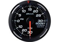 Defi White Racer Boost Pressure Gauge 52mm