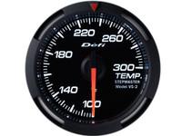 Defi White Racer Temperature Gauge 52mm