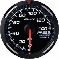 Defi White Racer Pressure Gauge 52mm 140 PSI