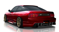 Origin Lab Racing Line Rear Bumper for 180sx (89-94 S13)