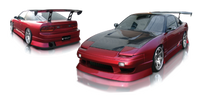 Origin Lab Aggressive Line Full Body Kit for 180sx (89-94 S13)