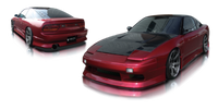 Origin Lab Stylish Line Full Body Kit for 180sx (89-94 S13)