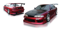 Origin Lab Aggressive Line Body Full Body Kit for Zenki (95-96 S14)