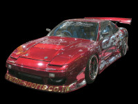 BN Sports Defend Blister Full Body Kit for 180sx (89-94 S13)