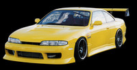 BN Sports Type 3 Full Body Kit for Zenki (95-96 S14)