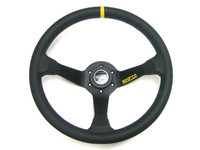 Sparco 325 Competition Black Leather Steering Wheel - 350mm