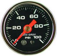 Auto Meter Comp Pressure 0-100 PSI