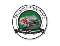Faction! Motorsports Season's Greetings 3 Sticker