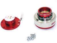 Works Bell Rapfix II Quick Release - Red/Silver