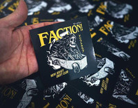 FACTION! Drift Club - Casket Ride Sticker