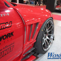Car Modify Wonder Glare GT 50mm Front Fenders for 180sx (89-94 S13)