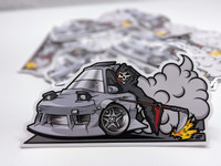 FACTION! Reaper 180sx Sticker