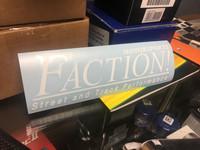 Faction! Motorsports - Shop Sticker
