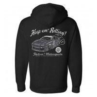 "Faction! ""Keep em' Rolling"" Pullover Style Hoodie"