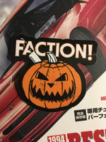 Faction! Pumpkin Sticker
