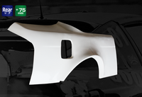 Origin Lab Rear Overfenders Type 4 for Silvia (95-98 S14)