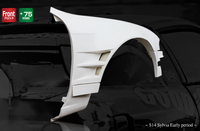 Origin Lab Front Fenders Type 4 for Zenki (95-96 S14)