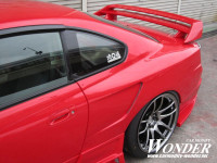 Car Modify Wonder Glare Twin Blade Rear Wing (99-01 S15)