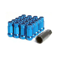 Muteki SR48 Blue Open Ended Lug Nuts 12x1.25