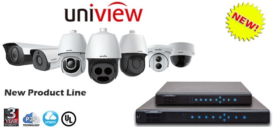 Uniview Vandal Dome Ip Cameras