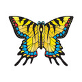 "Xkites - Midi Nylon Kite - Butterfly ""Yellow"""
