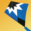 "Gomberg Kites - Starburst Stunt kite ""Blue"""
