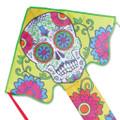 Premier Kites - Large Easy Flyer Kite - Sugar Skull Day of the Dead