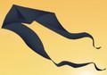 Gomberg Kites - Ghost Delta 11' x 35' Black