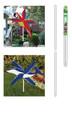 WNS - Whirlygig Garden Pole