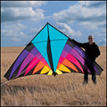 "ITTW - 12' Delta Kite ""Riviera Highlighter Delta"""