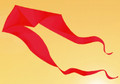 Gomberg Kites - Ghost Delta 7' x 22' Red
