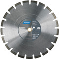24 x 155 Norton Classic Cured Concrete Diamond Blade Medium Aggregates (70184681465) Small Seeds