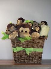 Giggles Monkey Gift Basket