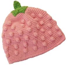 Lil' Berry Crochet Baby Hat