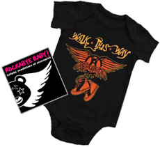 Aerosmith Onesie Gift Set