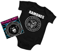 Ramones Baby Onesie and CD Gift Set