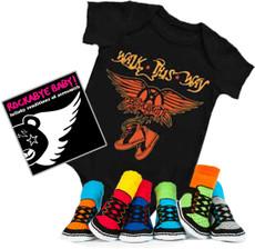 Aerosmith Onesie CD and Socks Boys Gift Set