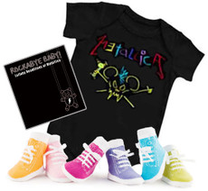 Metallica Baby Onesie Gift Set with Socks and CD