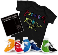 Metallica Baby Onesie Gift Set with CD and Socks