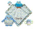 Adorable Owl Gift Set Blue