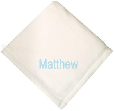 Natural Micro Fleece Baby Blanket