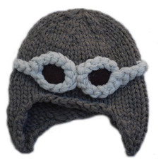 Baby Aviator Knit Hat