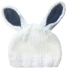Bailey Bunny Hat Gray
