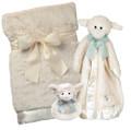 Lamby 3 Piece Gift Set