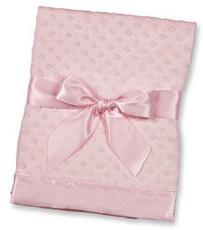 Pink Dottie Blankie