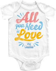 Beatles All you Need is Love Onesie
