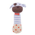 Boxer the Dog Organic Squeaky Toy from Apple Park Farm Buddies