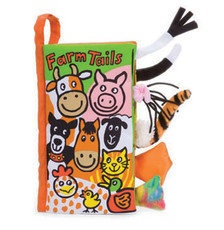 Farm Tails book from Jellycat